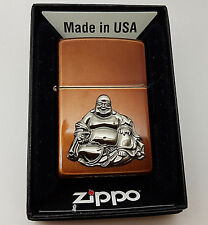 Authentic Zippo Bhuddha  Petrol Lighter.  Goldmine Jewellers.