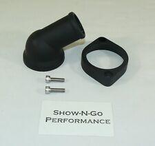 GM//Chevy 15° Aluminum Adju Water Neck Black w// Gasket BPK-2004BK