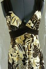 Speechless Brown And Yellow Floral Dress Size 9