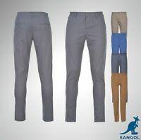 Boys Junior Kangol Chinos Straight Leg Trousers Size Age 7 8 9 10 11 12 13 Yrs