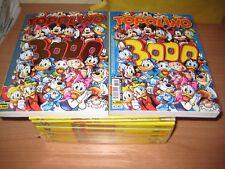 TOPOLINO 3000 + NELLA VERSIONE GOLD + SERIE COMPLETA TOPOLINO GOL + 3019 E 3020