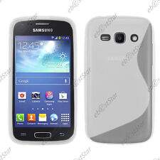 Housse Etui Coque Silicone S-line Gel Transparent Samsung Galaxy Ace 3 S7270