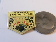 WESTMARK CAPE FOX LODGE TRAVEL PIN