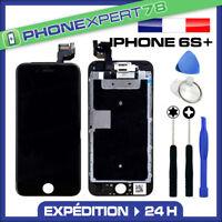 VITRE TACTILE + ECRAN LCD RETINA COMPLET SUR CHASSIS IPHONE 6S PLUS NOIR OUTILS