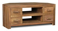 CUBA NATURAL SHEESHAM CORNER TV UNIT (C25NW)
