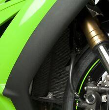 Kawasaki ZX10 R 2010 R&G Racing Radiator Guard RAD0068TI Titanium