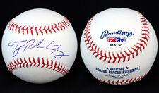 Tyler Pastornicky SIGNED ROMLB Baseball Braves RookieBall PSA/DNA AUTOGRAPHED