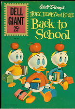Dell Comic Lot, Huey, Dewey and Louie Back to School Dell Giants #'s 49, 1