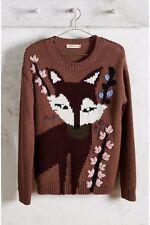NEW! Anthropologie Foxy Intarsia Pullover Sweater by Paul & Joe Sister SZ XS