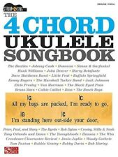 The 4 Chord Ukulele Songbook Book Sheet Music Strum & Sing