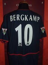 BERGKAMP ARSENAL 2002/2003 MAGLIA SHIRT CALCIO FOOTBALL MAILLOT JERSEY CAMISETA