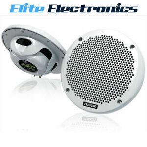 "FUSION MS-EL602 MARINE 6"" SHALLOW MOUNT  2-WAY 150W SPEAKERS BOAT AUDIO"