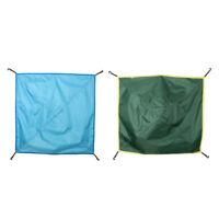 Pack of 2 Waterproof Rain Fly Tarps Multi functional Tent Footprint Durable