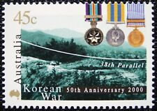 2000 50th ANNIVERSARY OF THE KOREAN WAR AUSTRALIAN DECIMAL ISSUE **MUH**!!!