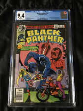 Marvel 1979 Black Panther #14 CGC 9.4 NM - WHITE Pages 1st Sienkiewicz Cover!!