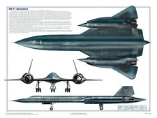 SR-71 Blackbird Poster Print, 24x18