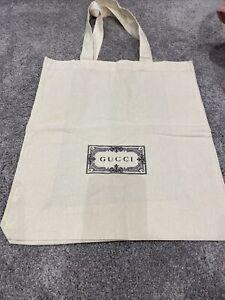 Gucci Fabric Bag Canvas Tote Shopper
