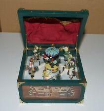 Spieluhr Spieldose Truhe Schatztruhe Weihnachtsmarkt Karussell Pferdekarussell