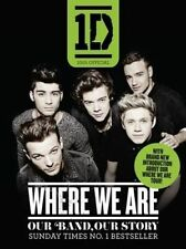 One Direction: Where We Are - BOOK - PAPERBACK - LIKE NEW
