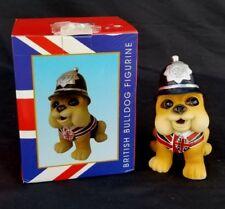 Best of British Bull Dog Cop Figurine Cute Puppy Officer Police K-9 England Dog