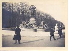 Paris Fontaine de l'Observatoire Vintage argentique 1900