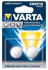2 Batterie Lithio 3v 2016 / DL2016 / CR2016 / BR2016 Varta