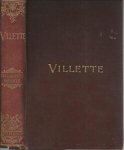 Villette - Currer Bell (Charlotte Bronte) - 1895 edition