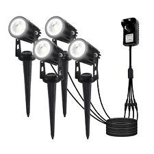 4Pcs Led Spotlights Landscape Lights Outdoor Garden Pathway Lamp *Us Stock*