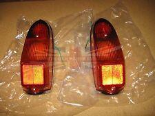 New Pair of Tail Lamp Stop Light Lens Assemblies MGB MG Midget 1970-1980