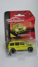 MAJORETTE PREMIUM  Mercedes G wagon model toy with information card