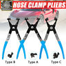 Straight Hose Clamp Pliers Coolant Pipe Tool Clip Removal Flat Band Ring Type