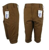 Stormkloth Mens Canvas Hunters Game Breeks Breeches Waterproof Breathable Brown