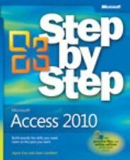 Microsoft Access 2010 Step by Step (Step By Step (Microsoft))-ExLibrary