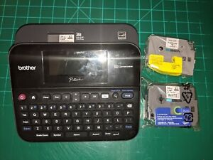 Brother Printer PTD600 PC Connectible Label Maker - Black