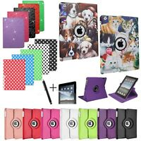For APPLE iPAD - Smart Stand Leather Magnetic Case Cover with Sleep/Wake