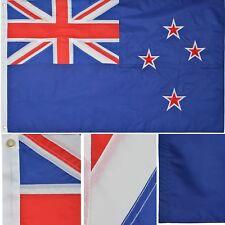 New Zealand 3' x 5' Ft 210D Nylon Premium Outdoor Embroidered Kiwi Flag