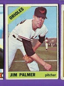 1966 Topps #126 Jim Palmer Rookie RC, GD-VG