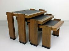 Tables gigognes vintage 1960