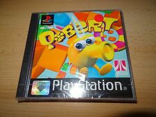 Q BERT SONY PLAYSTATION 1 BLACK LABEL GAME OFFICIAL UK PAL new sealed