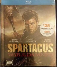 Spartacus: War of the Damned (Blu-ray Disc, 2013, 3-Disc Set Starz SEALED fr/dhp