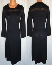 JONES NEW YORK BLACK LONG SLEEVE SWEATER DRESS SIZE M NEW WITH TAG