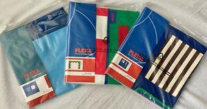 3er Set Flexa Spielvorhang Bettvorhang Hochbett Blau mit Tor