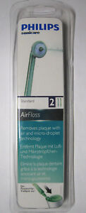 Philips Sonicare Standard AirFloss Replacement Jets/Nozzles/Heads/Refills 2-Pack