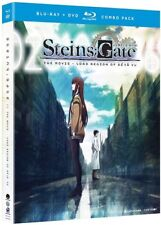 Steins;Gate: The Movie - Load Region Of Deja Vu [New Blu-ray] With DVD, 2 Pack