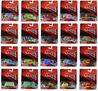 Disney Pixar Mattel Cars 3 Die-Cast Vehicles. Movie Cartoon Gift Toy Character