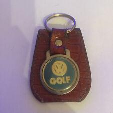 Vintage VW Key ring keychain tag chain key fob Golf GTI 16V volkswagen