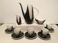 8 PIECE MID CENTURY CZECHOSLOVAKIAN TEA SET