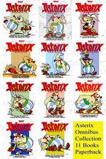 Asterix Omnibus Brand New Books Set - Volume 1 - Volume 11 - Hachette Graphics