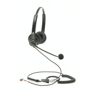 Grandstream Phone Call Center Headset Dual Ear Quick Disconnect Cord Included