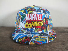 MARVEL COMICS x NEW ERA Avengers 59FIFTY Fitted Cap 7 7/8 ironman thor spiderman